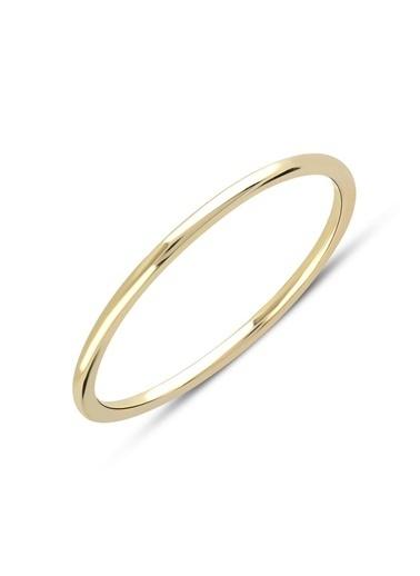 Piano Jewellery Andante Tel Altın Yüzük 14 Ayar Altın
